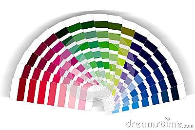 Colour swatch cmyk rgb