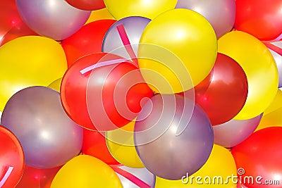 Coloured balloon