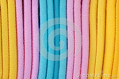 Coloured cloth