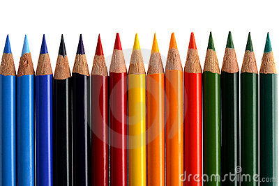 Coloured Crayon Royalty Free Stock Image - Image: 2349686