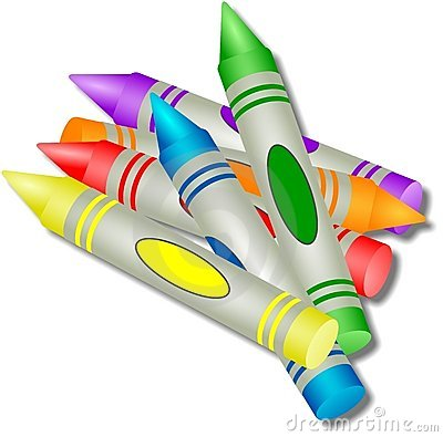 Free Coloured Crayons Stock Photos - 42273