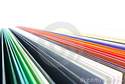 Coloured papers