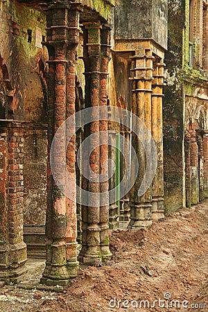 Free Coloured Pillars Stock Photos - 3897863