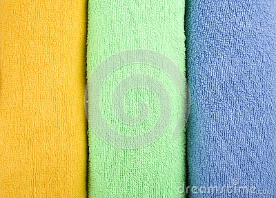 Coloured Towels