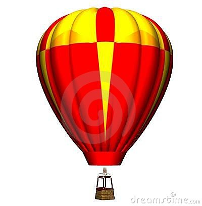 Colourful air balloon