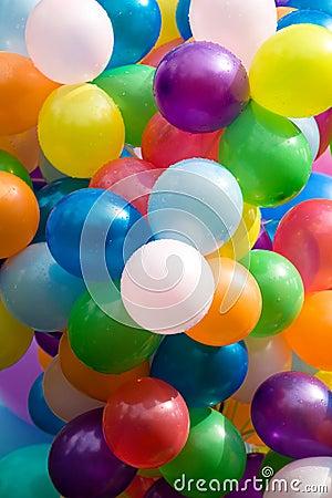 Free Colourful Air Balloons. Royalty Free Stock Photos - 2813988