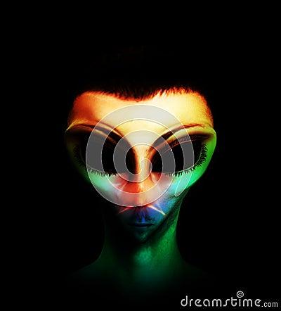 Colourful Alien Hybrid