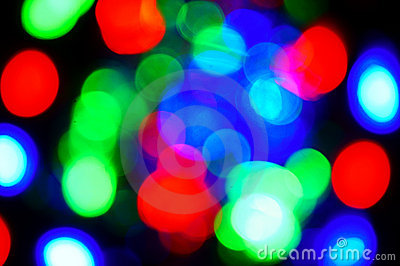 Colourful blur background