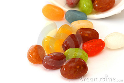 Colourful candies