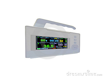 colourful cardiovascular portable monitor,doppler,