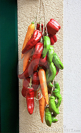 Free Colourful Chillies Stock Image - 16922891