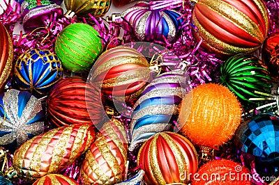 Colourful christmas decoration