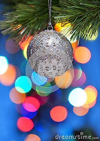 Colourful Christmas Tree Ornament