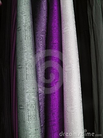 Colourful cloth fabrics