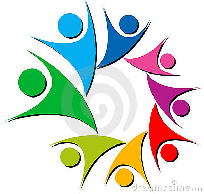 Colourful couples logo