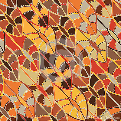 Free Colourful Ethnic Pattern With The Motifs Of A Dance Shield Of The Kikuyu People Of Central Kenya. Royalty Free Stock Image - 58620746