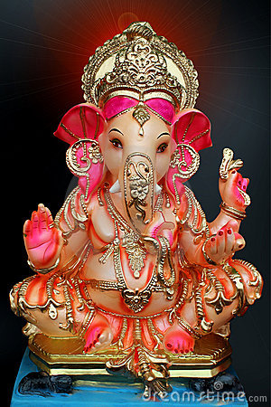 Colourful Ganesh