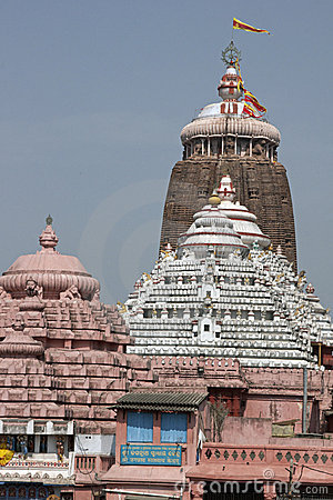 Free Colourful Hindu Temple Stock Image - 5244741