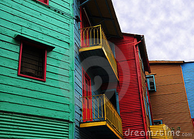 Colourful house of caminito