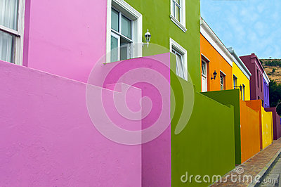 Colourful Houses