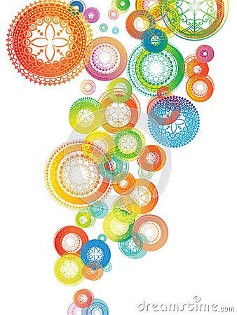 Colourful Mandala Background