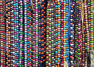 Colourful necklaces