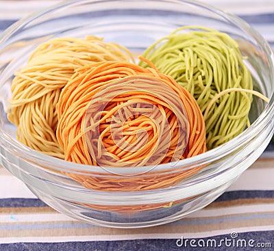 Colourful Noodles