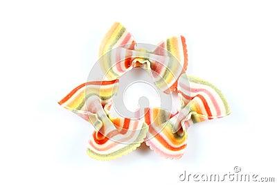 Colourful Ribbon Pasta