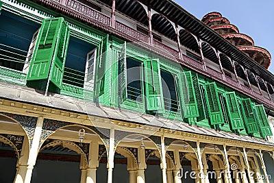 Colourful Royal Palace Building, Kathmandu, Nepal