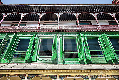 Colourful Royal Palace Building, Kathmandu, Nepal