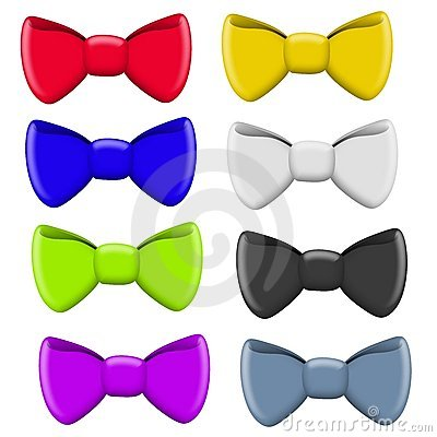 Colourful Selection of Bow Ties