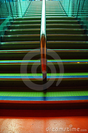 Colourful Stairway