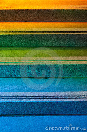 Free Colourful Steps Royalty Free Stock Photography - 16974487