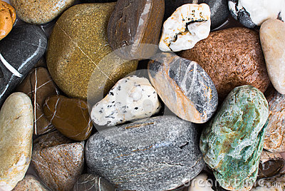 Colourful stones background