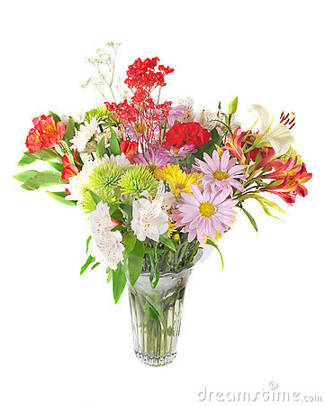 Colourful summer flowers mix.