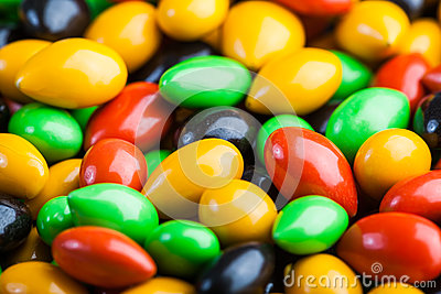 Colourful sweeties