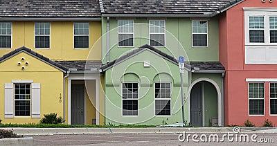 Colourful Tarasowaci domy zbiory