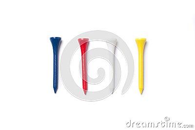 Colourful tees