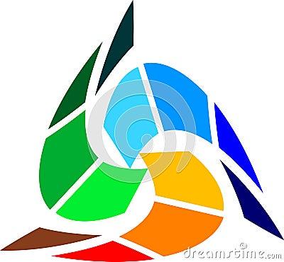 Colourful triangle