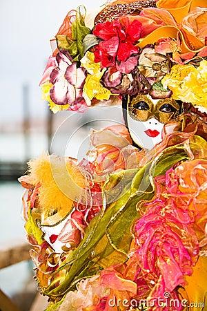 Colourful Venetian Costume