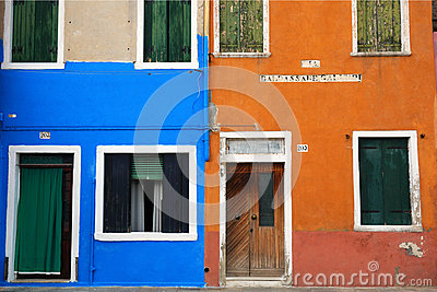 Colourful wall