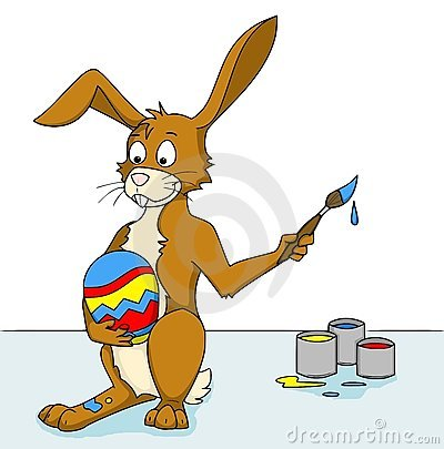 Colouring eastereggs