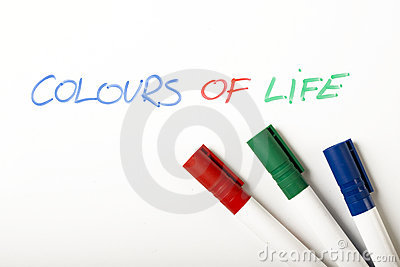 Colours Of Life Royalty Free Stock Images - Image: 12273519