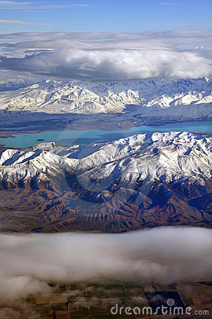 Colours of Otago, Aerial, New Zealand