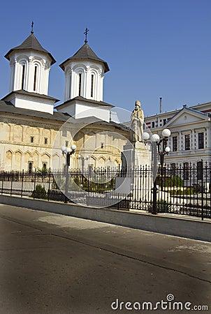 Coltea church and hospital