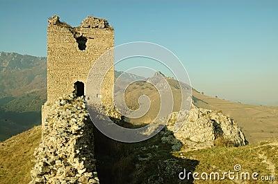 Coltesti fortress, Transylvania, Romania