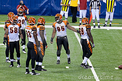 Colts-Bengals football game Editorial Photo