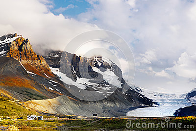 Columbia Icefield, Rocky Mountains, Canada