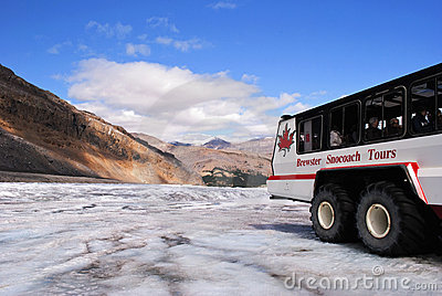 Columbia icefield tour Editorial Photo
