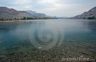 Columbia river in Chelan county